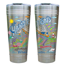 Load image into Gallery viewer, Hamptons Thermal Tumbler (Set of 4) - PREORDER Thermal Tumbler catstudio
