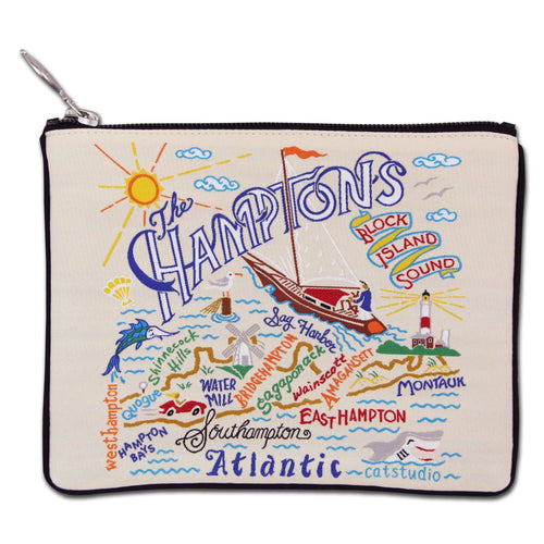 Hamptons Zip Pouch - Coming Soon! - catstudio