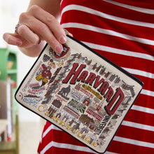 Load image into Gallery viewer, Harvard University Collegiate Zip Pouch - catstudio