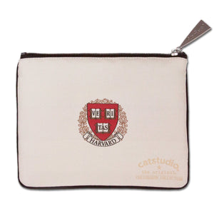 Harvard University Collegiate Zip Pouch - catstudio