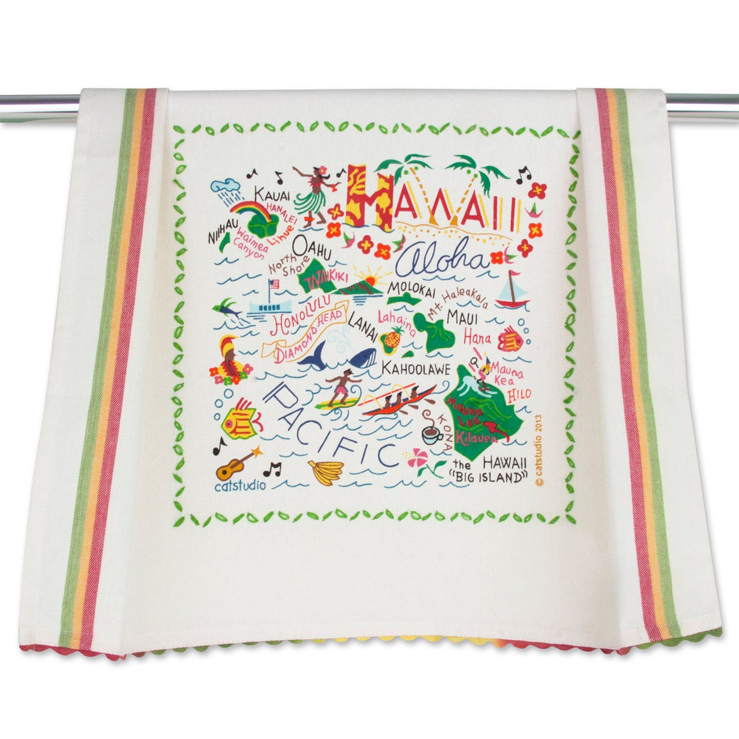 Hawaii Dish Towel - catstudio