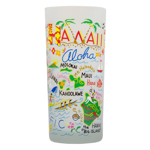 Hawaii Drinking Glass - catstudio