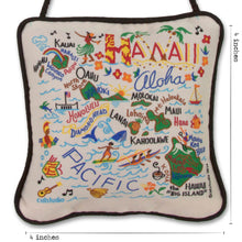 Load image into Gallery viewer, Hawaii Mini Pillow Ornament - catstudio
