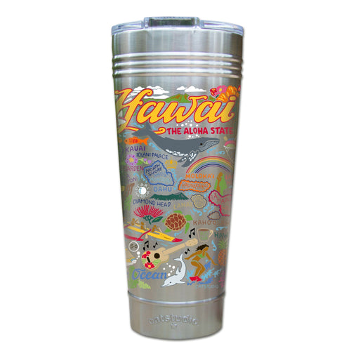 Hawaiian Isles Thermal Tumbler (Set of 4) - PREORDER Thermal Tumbler catstudio