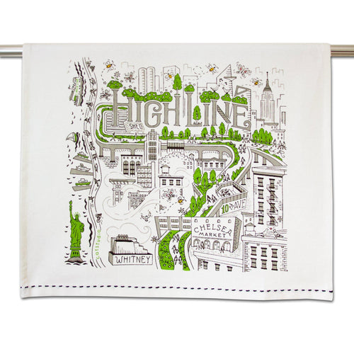 High Line New York Dish Towel Dish Towel catstudio