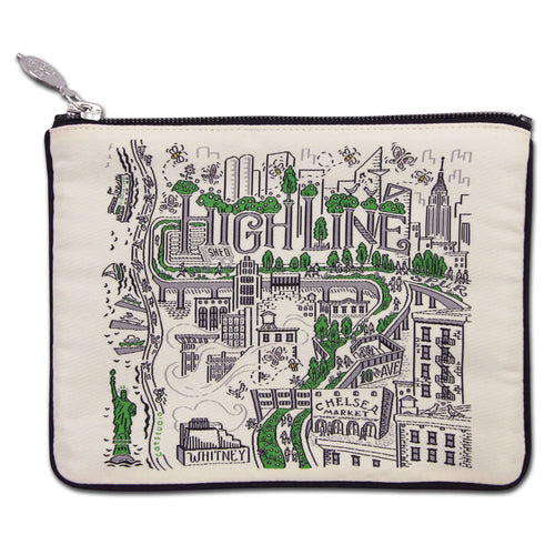 High Line New York Zip Pouch Pouch catstudio
