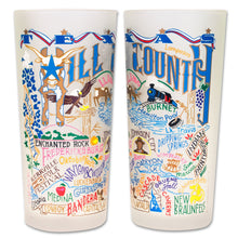 Load image into Gallery viewer, Hill Country Drinking Glass - catstudio