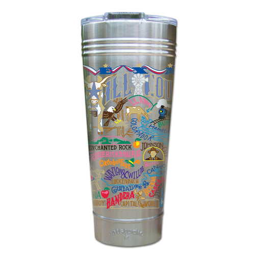 Hill Country Thermal Tumbler (Set of 4) - PREORDER Thermal Tumbler catstudio
