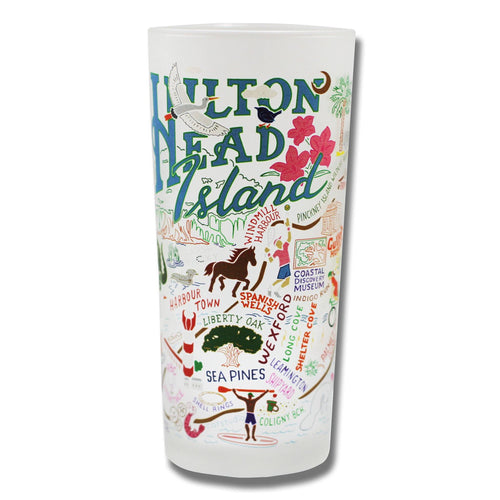 Hilton Head Drinking Glass - catstudio
