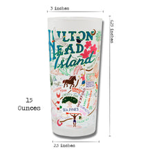 Load image into Gallery viewer, Hilton Head Drinking Glass - catstudio