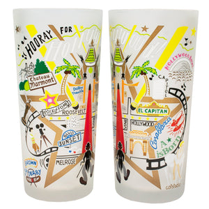 Hollywood Drinking Glass - catstudio