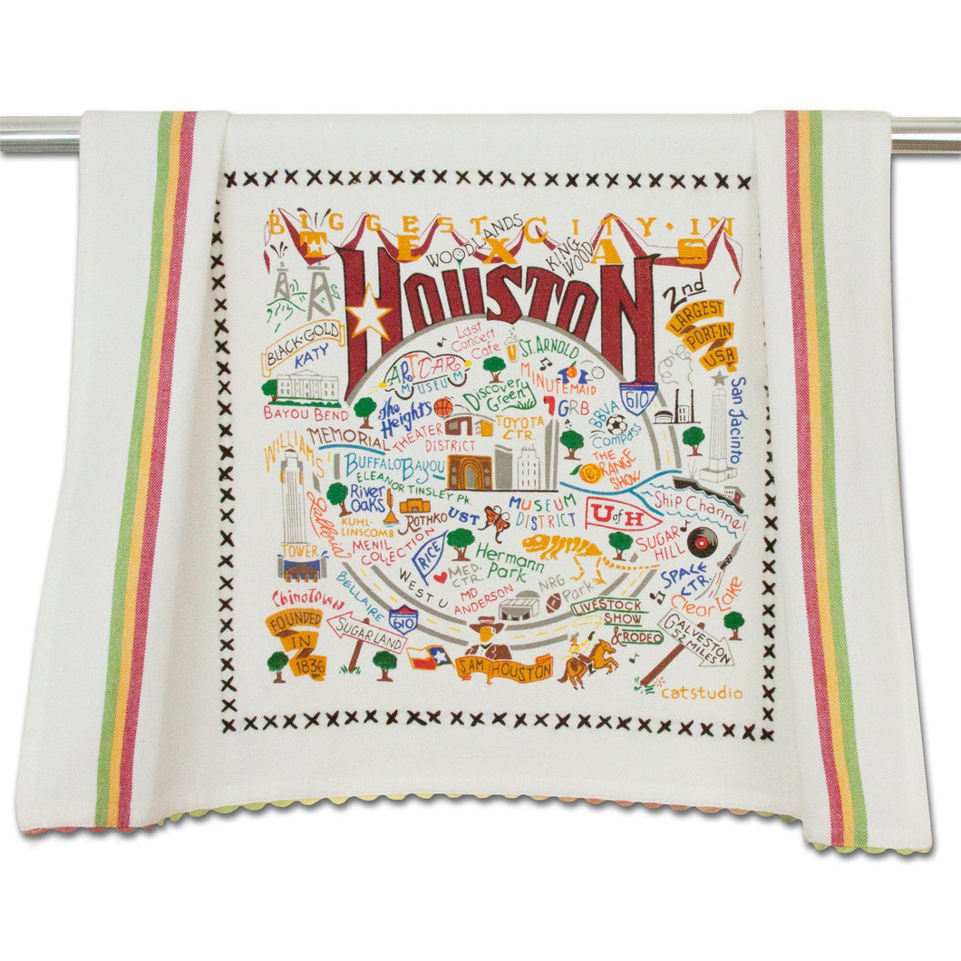Houston Dish Towel - catstudio