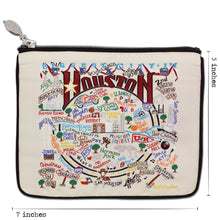 Load image into Gallery viewer, Houston Zip Pouch - Natural - catstudio
