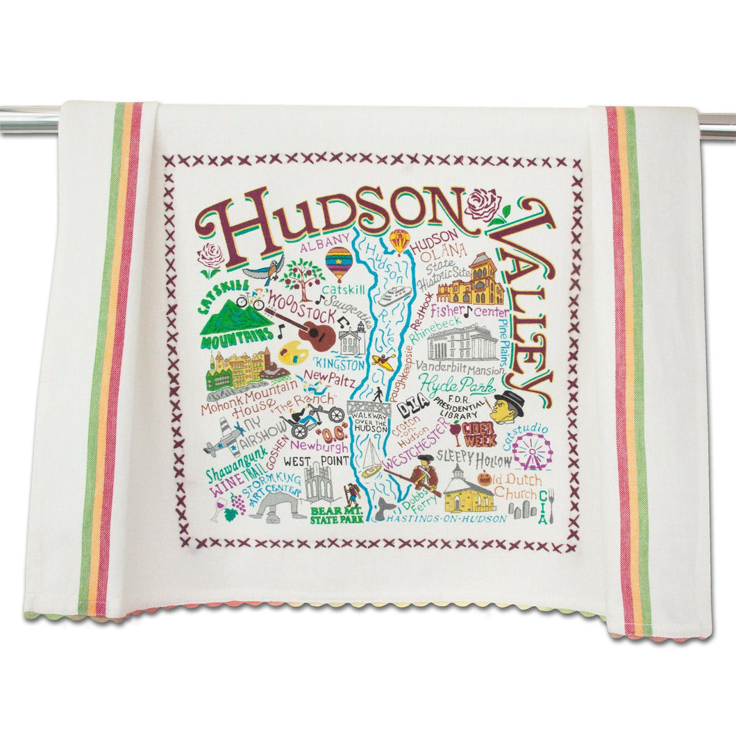 Hudson Valley Dish Towel - catstudio
