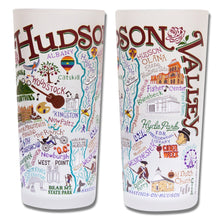 Load image into Gallery viewer, Hudson Valley Drinking Glass - catstudio