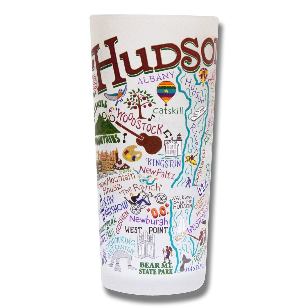 Hudson Valley Drinking Glass - catstudio