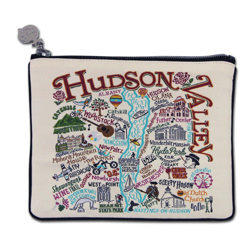 Hudson Valley Zip Pouch - catstudio