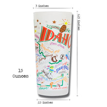 Load image into Gallery viewer, Idaho Drinking Glass - catstudio