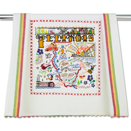 Illinois Dish Towel - catstudio