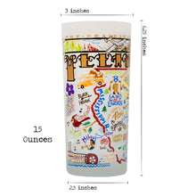 Load image into Gallery viewer, Illinois Drinking Glass - catstudio