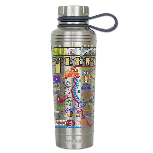 Illinois Thermal Bottle - catstudio