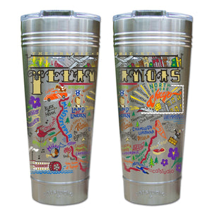 Illinois Thermal Tumbler (Set of 4) - PREORDER Thermal Tumbler catstudio