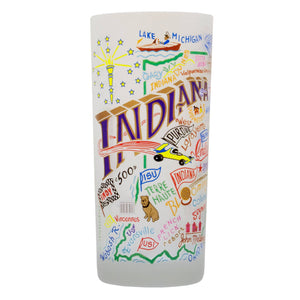 Indiana Drinking Glass - catstudio