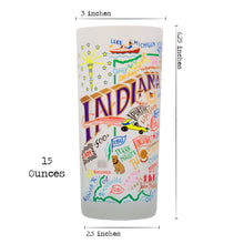Load image into Gallery viewer, Indiana Drinking Glass - catstudio