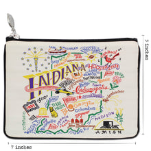 Load image into Gallery viewer, Indiana Zip Pouch - Natural - catstudio