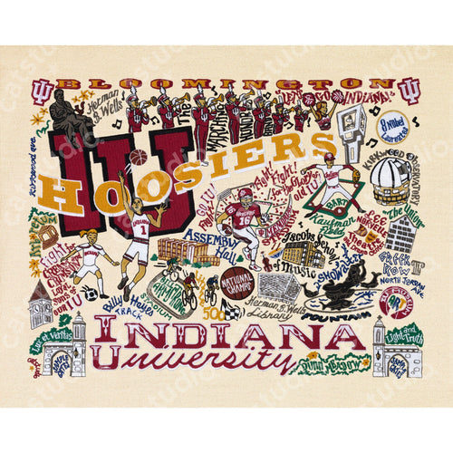 Indiana University Collegiate Fine Art Print - catstudio