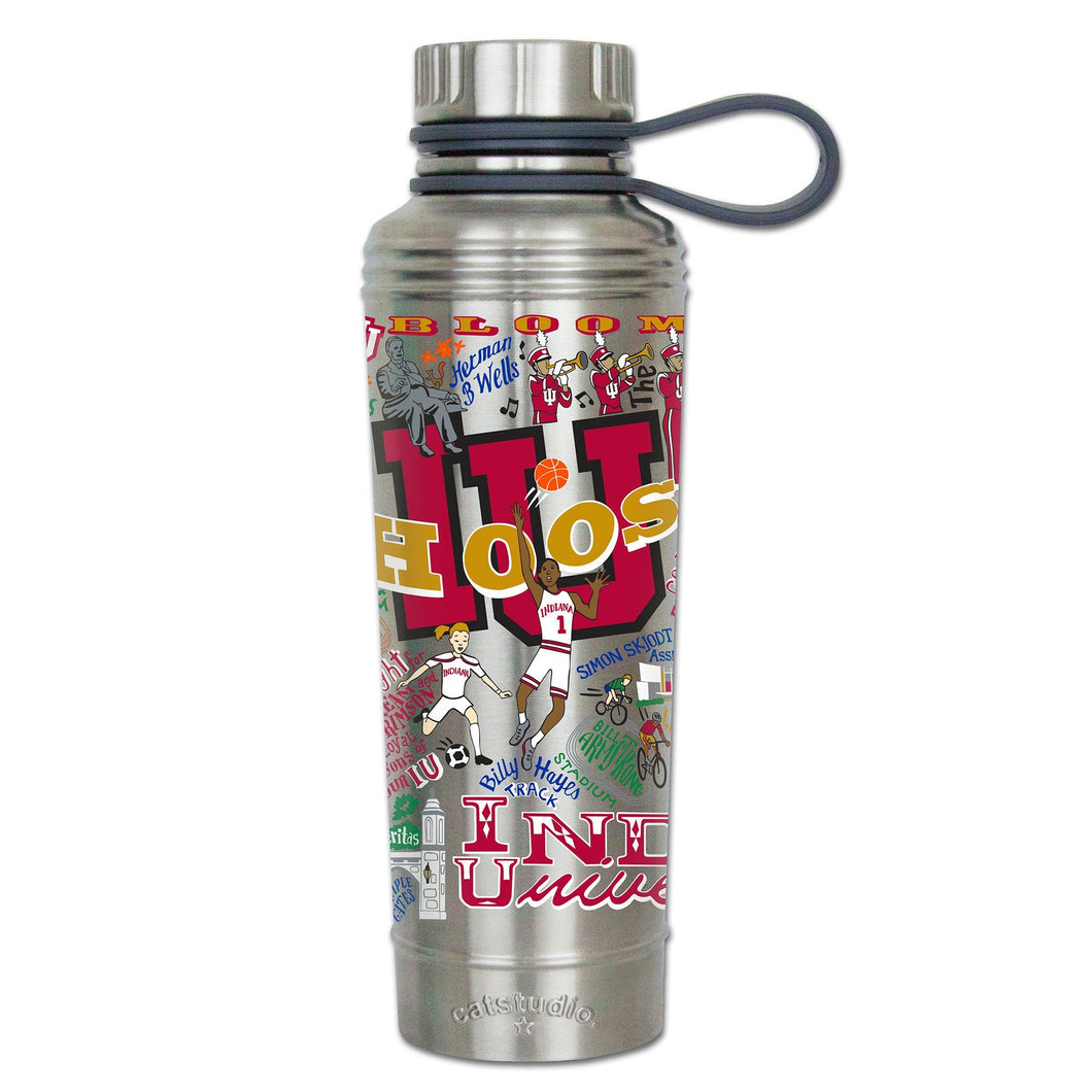 Indiana University Collegiate Thermal Bottle - catstudio