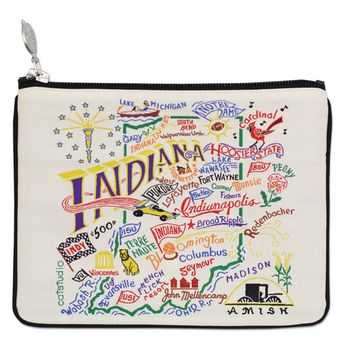 Indiana Zip Pouch - Natural - catstudio