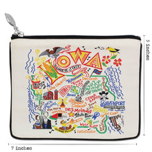 Load image into Gallery viewer, Iowa Zip Pouch - Natural - catstudio