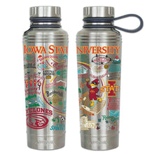 Load image into Gallery viewer, Iowa State University Collegiate Thermal Bottle - catstudio