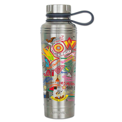 Iowa Thermal Bottle - catstudio
