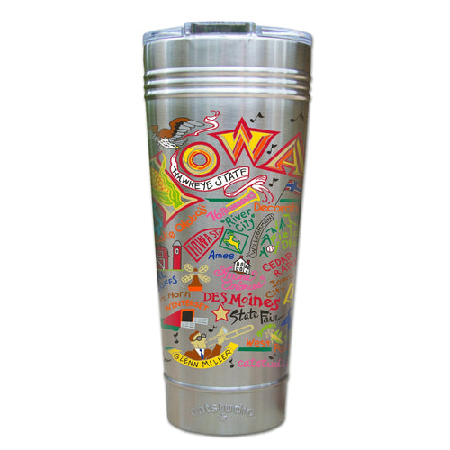 Iowa Thermal Tumbler (Set of 4) - PREORDER Thermal Tumbler catstudio