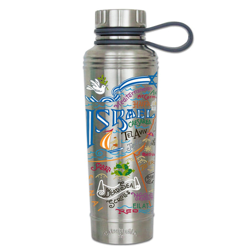 Israel Thermal Bottle - catstudio