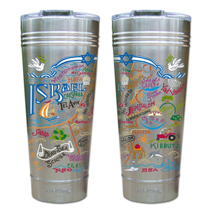 Israel Thermal Tumbler (Set of 4) - PREORDER Thermal Tumbler catstudio