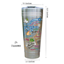 Load image into Gallery viewer, Israel Thermal Tumbler (Set of 4) - PREORDER Thermal Tumbler catstudio