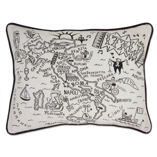 Italy Hand-Guided Machine Pillow - catstudio