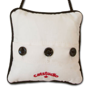 Italy Mini Pillow Ornament - catstudio