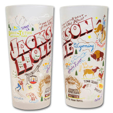 Load image into Gallery viewer, Jackson Hole Drinking Glass - catstudio