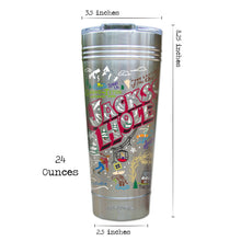 Load image into Gallery viewer, Jackson Hole Thermal Tumbler (Set of 4) - PREORDER Thermal Tumbler catstudio