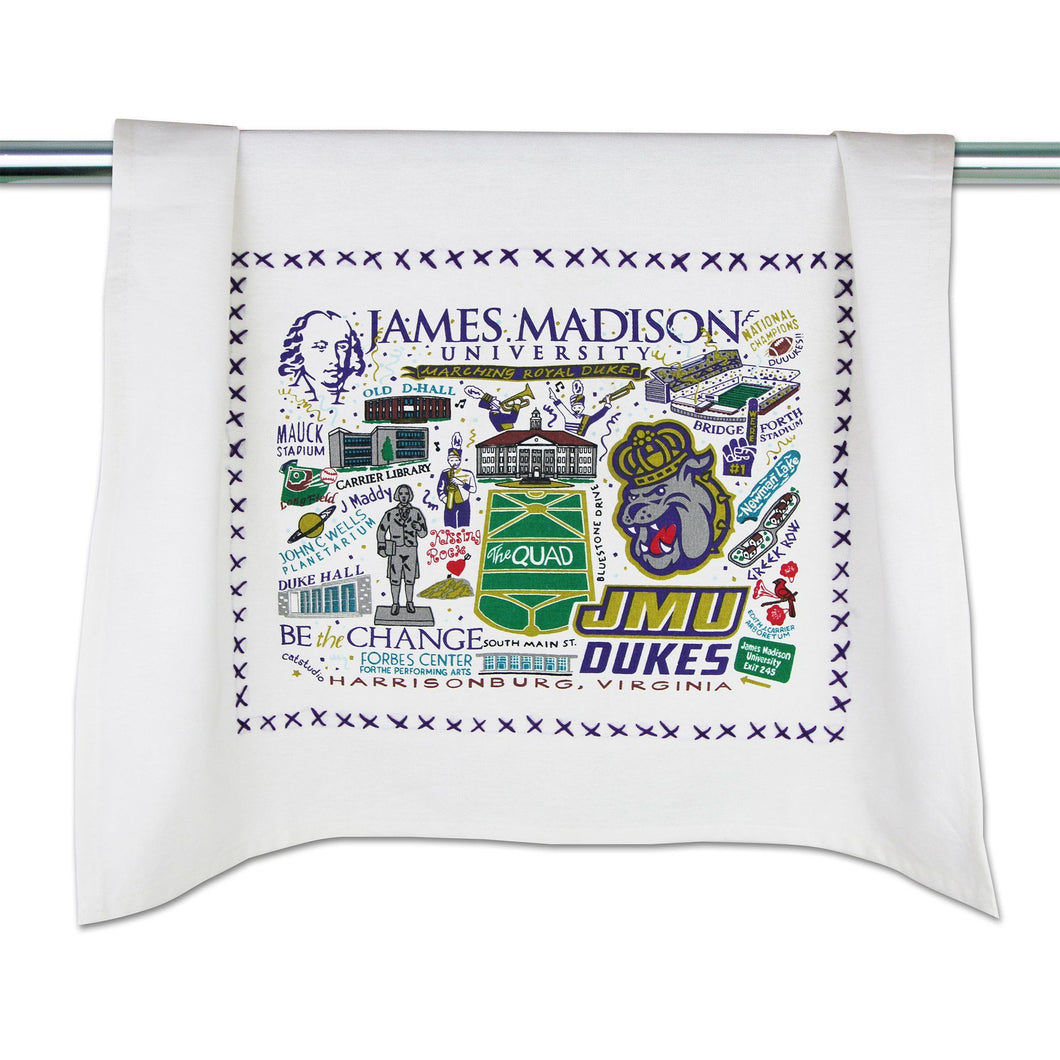 James Madison University Collegiate Dish Towel - catstudio