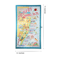 Load image into Gallery viewer, Jersey Shore Beach & Travel Towel Beach & Travel Towels catstudio