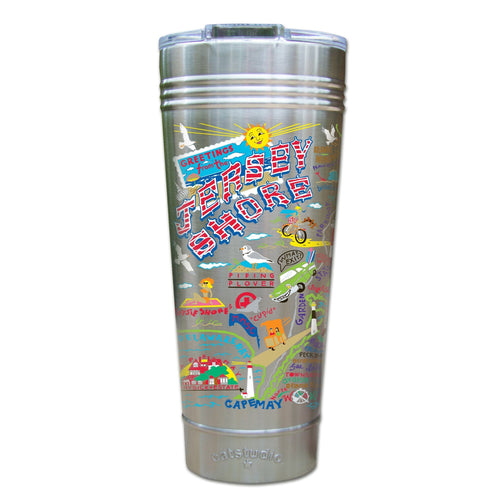 Jersey Shore Thermal Tumbler (Set of 4) - PREORDER Thermal Tumbler catstudio