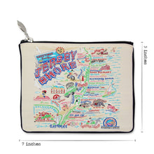 Load image into Gallery viewer, Jersey Shore Zip Pouch - catstudio