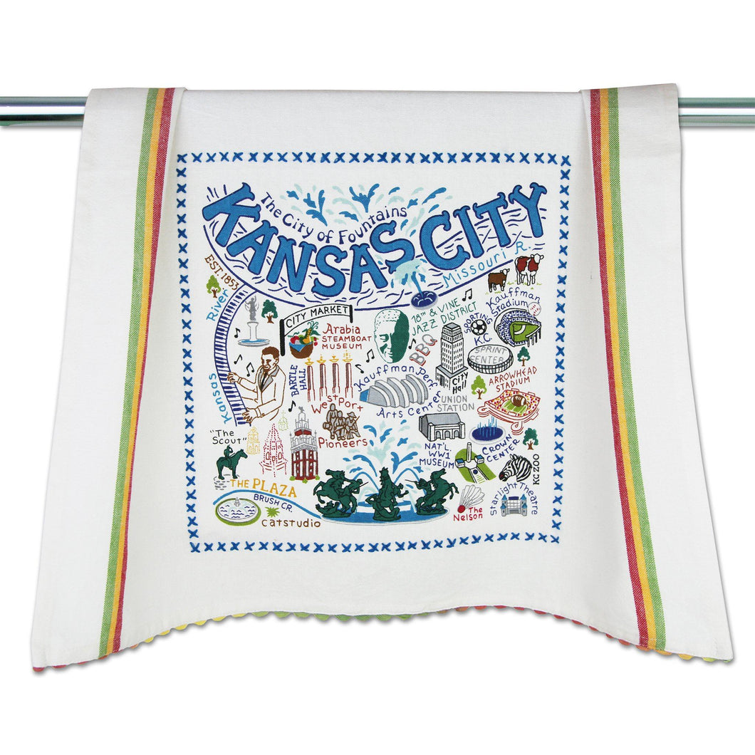 Kansas City Dish Towel - catstudio