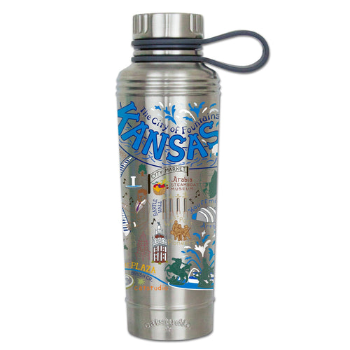 Kansas City Thermal Bottle - catstudio
