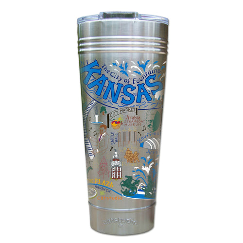 Kansas City Thermal Tumbler (Set of 4) - PREORDER Thermal Tumbler catstudio